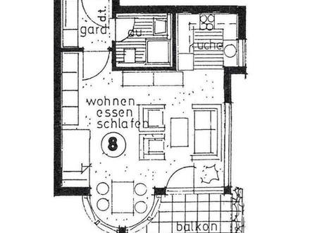 Für Kapitalanleger: vermietete Wohnung!