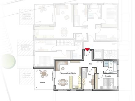 Die perfekte Wohnung für Paare, Singles & Senioren