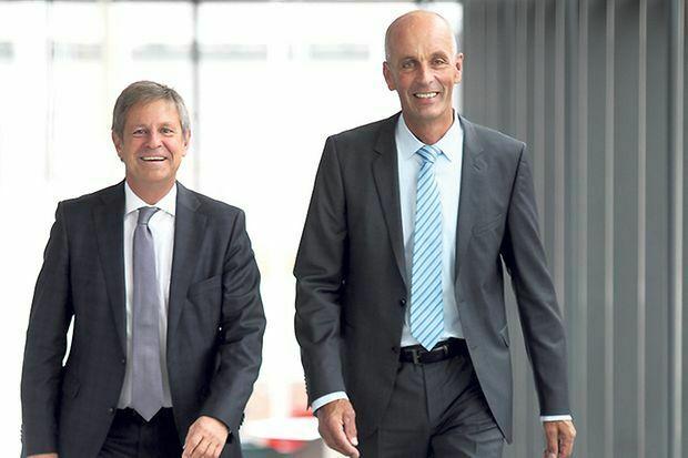 Präsident Thomas Conrady und Hauptgeschäftsführer Prof. Dr. Claudius Marx