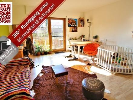 Attraktive Kapitalanlage: Zwei Zimmerwohnung mit Balkon am Feldrand von Roßdorf