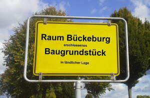 Baulücke zwischen Minden und Bückeburg