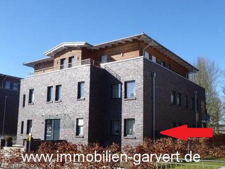 Vermietung! Borken - Moderne Erdgeschosswohnung mit Garten und Blick in den Park in ruhiger Wohnlage