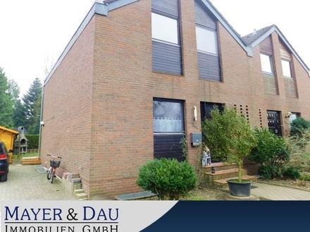 Oldenburg: Solide Doppelhaushälfte in Bümmerstede, Obj. 4635