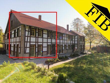 Traumhaftes Wohnen im Grünen! 3 ZKB-Neubauwohnung mit Terrasse in Bielefeld-Sieker Schweiz!