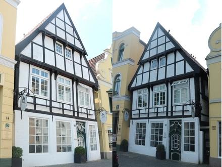 Historisches Fachwerkhaus in der Oldenburger Innenstadt