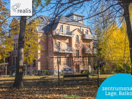 Exklusiv investieren+++großzügige Wohnung in einer Villa auf dem Kaßberg
