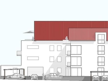Penthousewohnungen im Neubauvorhaben in Maselheim