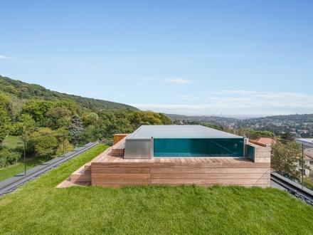 ON TOP OF VIENNA - Penthouse mit Infinity-Pool und Blick über ganz Wien!