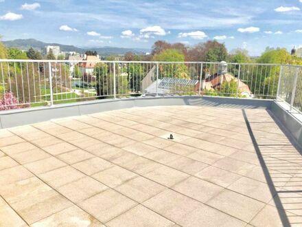 Klagenfurt - Radetzkystraße: 94 m² Wfl. + 35 m² Dachterrasse und Lift direkt in die Wohnung