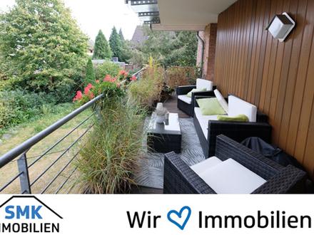 Schöner Wohnen mit Einbauküche, Gäste-WC und großem Balkon!