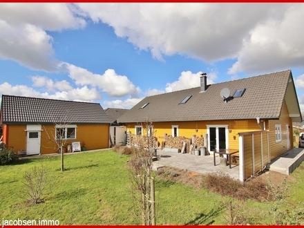 Ein behagliches Holzhaus mit praktischer Aufteilung in ruhiger Wohnlage von Struxdorf