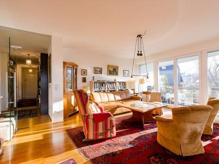 SALZBURG-SÜD I Aussergewöhnliche 3-Zimmer-Wohnung direkt am Grünland mit Blick auf Hellbrunner Allee