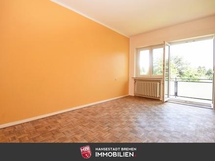 Schwachhausen / Helle 3-Zimmer-Wohnung mit Balkon in zentraler Lage