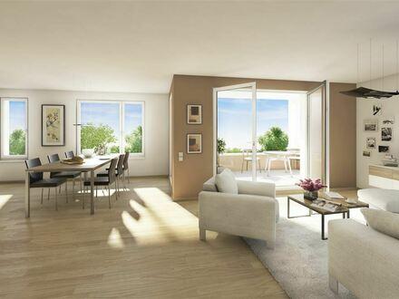Moderner ERSTBEZUG: 3-ZIMMER-Wohnung mit SÜDWEST-LOGGIA