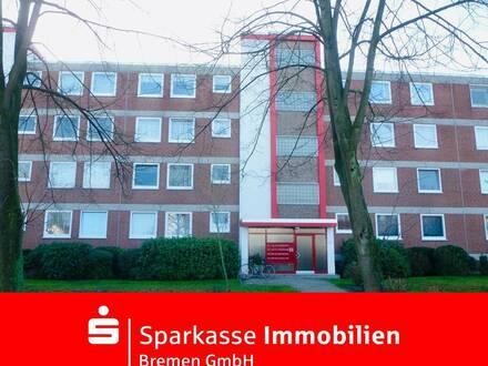 Kapitalanlage in Lilienthal: Schöne 1-Zimmer-Wohnung mit Blick auf die Wörpe