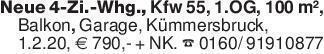Neue 4-Zi.-Whg., Kfw 55, 1.OG,...