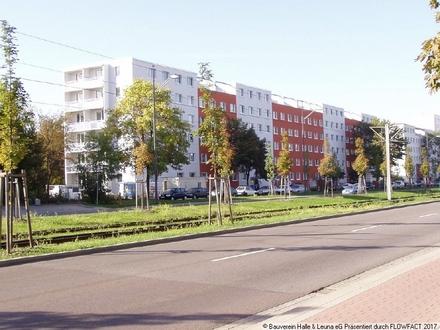 Klein aber fein - Singlewohnung im Zentrum von Halle-Neustadt
