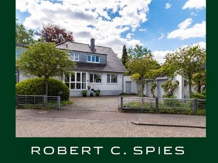 Großzügiges und stilvolles Einfamilienhaus mit Bebauungsmöglichkeiten in Lilienthals Bestlage