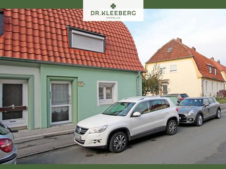 PROVISIONSFREI für Käufer – Unter Denkmalschutz stehende Doppelhaushälfte mit Nutzgarten in Ahlen