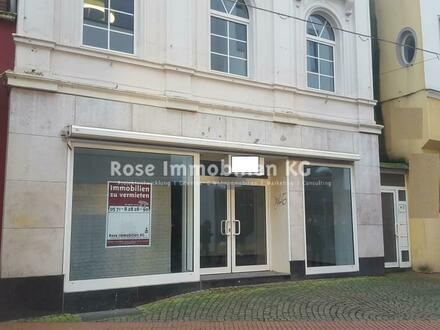 ROSE IMMOBILIEN KG: Ladenlokal in TOP-Lage der Fußgängerzone von Minden!