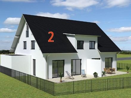 PROVISIONSFREI* - NEUBAU - KfW55-Doppelhaushälfte mit Garage in Ergolding