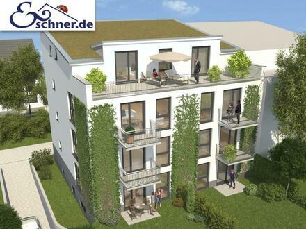 PROVISIONSFREI mit Terrasse + Garten: Schlüsselfertige Neubau-ETW in guter Lage von Offenbach-Bieber