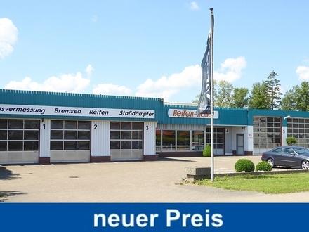 Gewerbeobjekt / Bauplatz f. Wohn-/Geschäftshaus in einem Mischgebiet im Ortsbereich Bad Zwischenahn