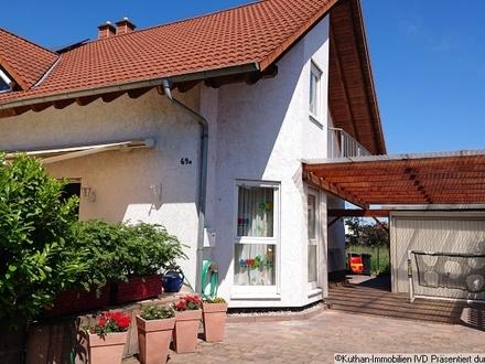 Gepflegte Doppelhaushälfte in Haßloch
