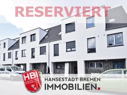 Walle / Neubau: Modernes Reihenmittelhaus mit Sonnengrundstück