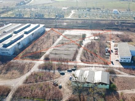 Rund 16.500 m² befestigte Freifläche im Dresdner Osten zur MIETE