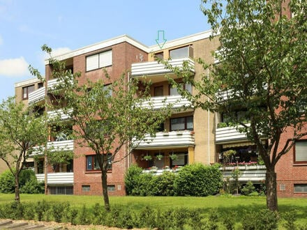 """TT bietet an: 3-Zimmer-Wohnung für """"jung und fit"""" - mit großem Balkon in Heidmühle!"""
