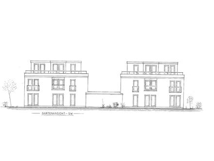 Ellenerbrok-Schevemoor / Neubau von zwei modernen Doppelhaushälften.