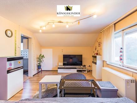 Wangen/ Fils: 2- Zi.- DG -Wohnung mit guter Rendite + EBK + TL Badezimmer + PKW Stellplatz