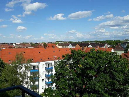 Zentrale 2-Zimmer-Wohnung, toller Blick über Ulm/Neu-Ulm