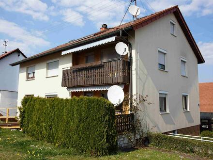 Ellwangen - teilvermietetes Zweifamilienhaus in ruhiger Lage