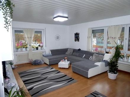 Helle, gut ausgestattete 4-Zimmer-Wohnung im Ulmer Donautal gelegen
