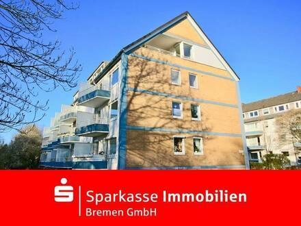 Mehr Bremen geht nicht - Moderne 2,5-Zimmer-Eigentumswohnung mit zwei Balkonen am Osterdeich