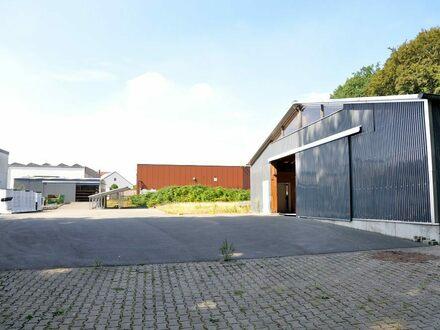 Baureifes Grundstück mit 234qm Gewerbehalle und Photovoltaik in Bielefeld-Brake