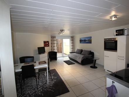 Modernes Zwei-Zimmer-Appartement mit guter Anbindung an die A5 /A67 und den Airport Ffm