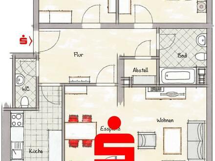 Vermietete 3-Zimmer-Wohnung in Mainz-Münchfeld