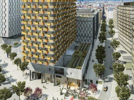"""Provisionsfreie 2-Zimmer-Wohnung mit großem Balkon im """"Quartier Belvedere Central"""""""