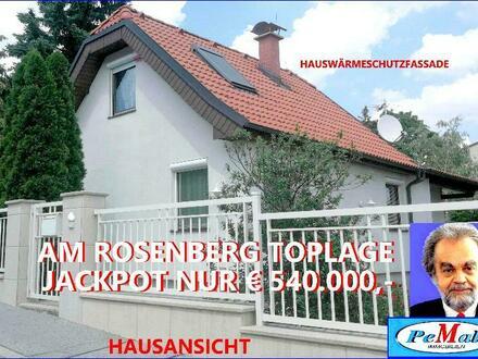 *EINMALIGE CHANCE !! in 1230 MAUER /ROSENHÜGEL TOPLAGE* nähe ORF-Zentrum, am ROSENBERG ziegelmassives EINFAMILIENHAUS VERBAUT:…