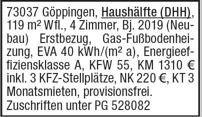 DDH Vermietung 4-Zi.