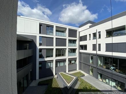 Hochwertige 2-Zimmer-Neubaumietwohnung mit Blick in den Innenhof - Kaiserquartier GT