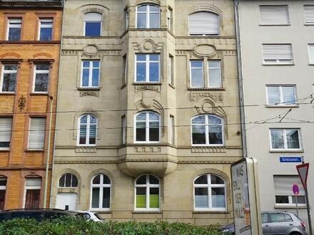 Vermietete 4 ZKB-Wohnung im Jugendstilanwesen mit Ausbauoption zur Maisonettewohnung