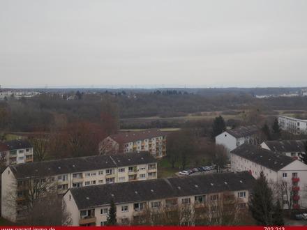 2 Zimmer-Wohnung über den Dächern von Bischofsheim