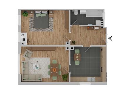 2 Zimmer ETW innerhalb des Rings