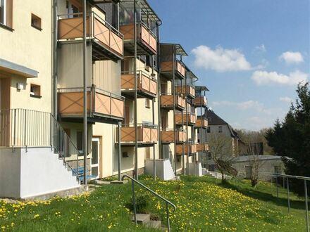 +++ 2 Raumwohnung mit Balkon und Ausblick ins Grüne +++