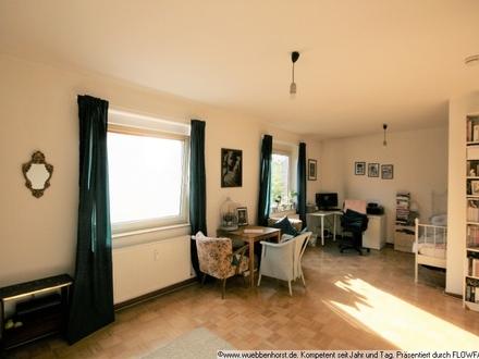 Helle, gepflegte 1-Zimmer-Wohnung mit Einbauküche in Nadorst