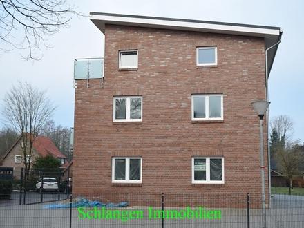 Objekt Nr: 00/677 Erstbezug - Tolle Obergeschosswohnung mit Balkon in Barßel / OT Harkebrügge